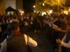 ...in Piazza Autonomia con il pubblico