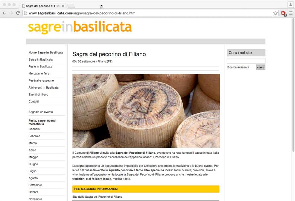 Sagre in Basilicata