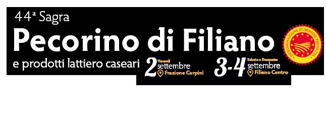 44ª Sagra del Pecorino di Filiano e dei Prodotti Lattiero Caseari