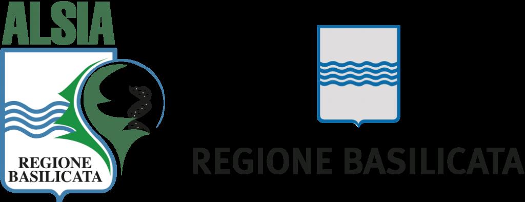 Logo ALSIA e Regione Basilicata