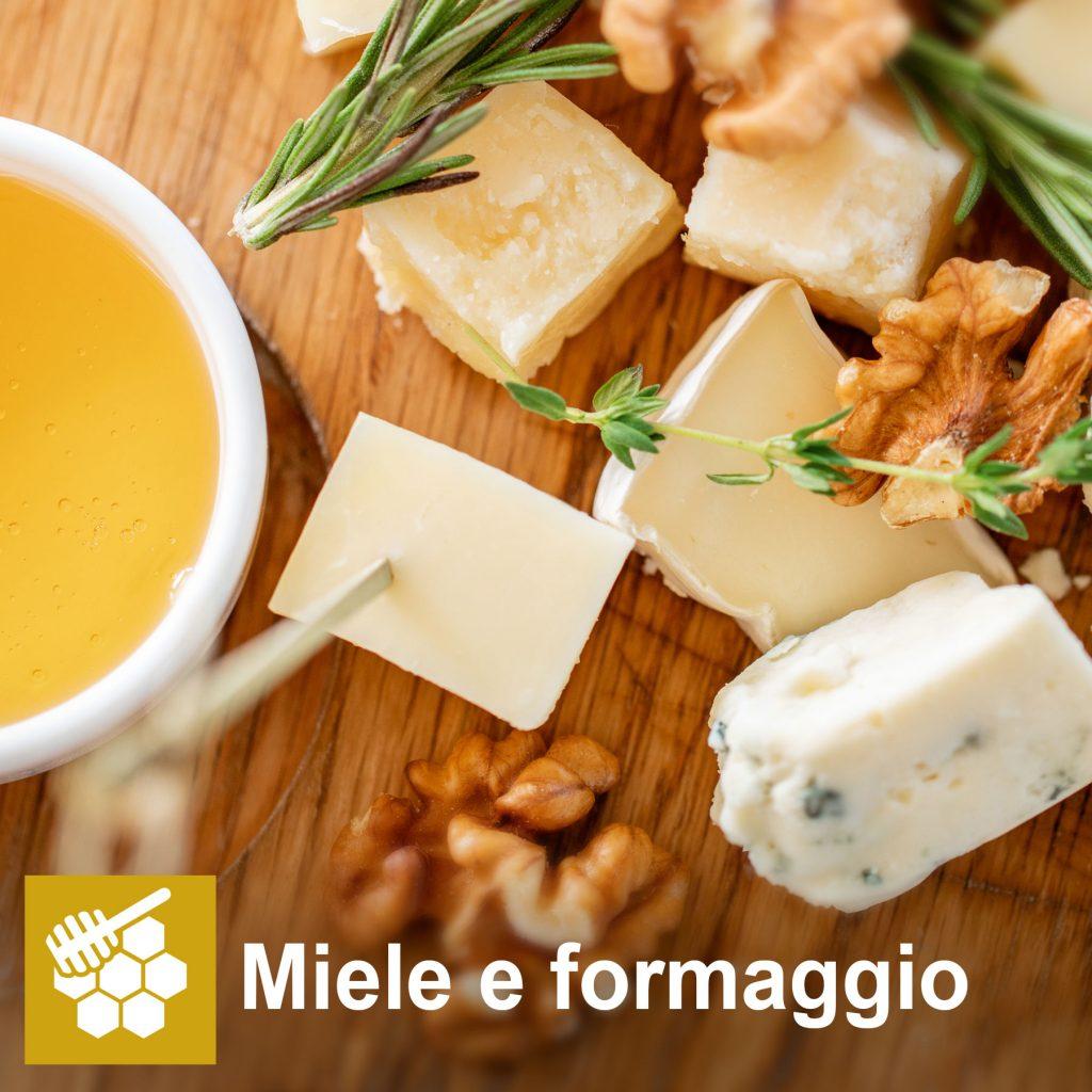 Miele e formaggio
